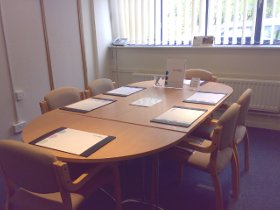Small Meeting Room for rent at Carrington Business Park near Manchester